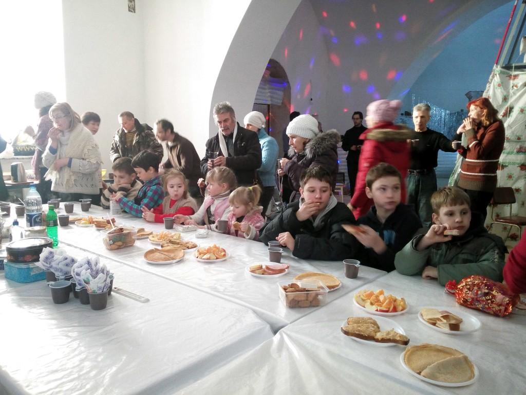 Детский праздник рождества христова Аниматоры Софийская улица (город Троицк)